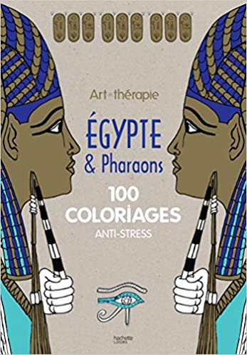 Coloriage Egypte Chat.Egypte Et Pharaons 100 Coloriages Anti Stress Amazon Fr