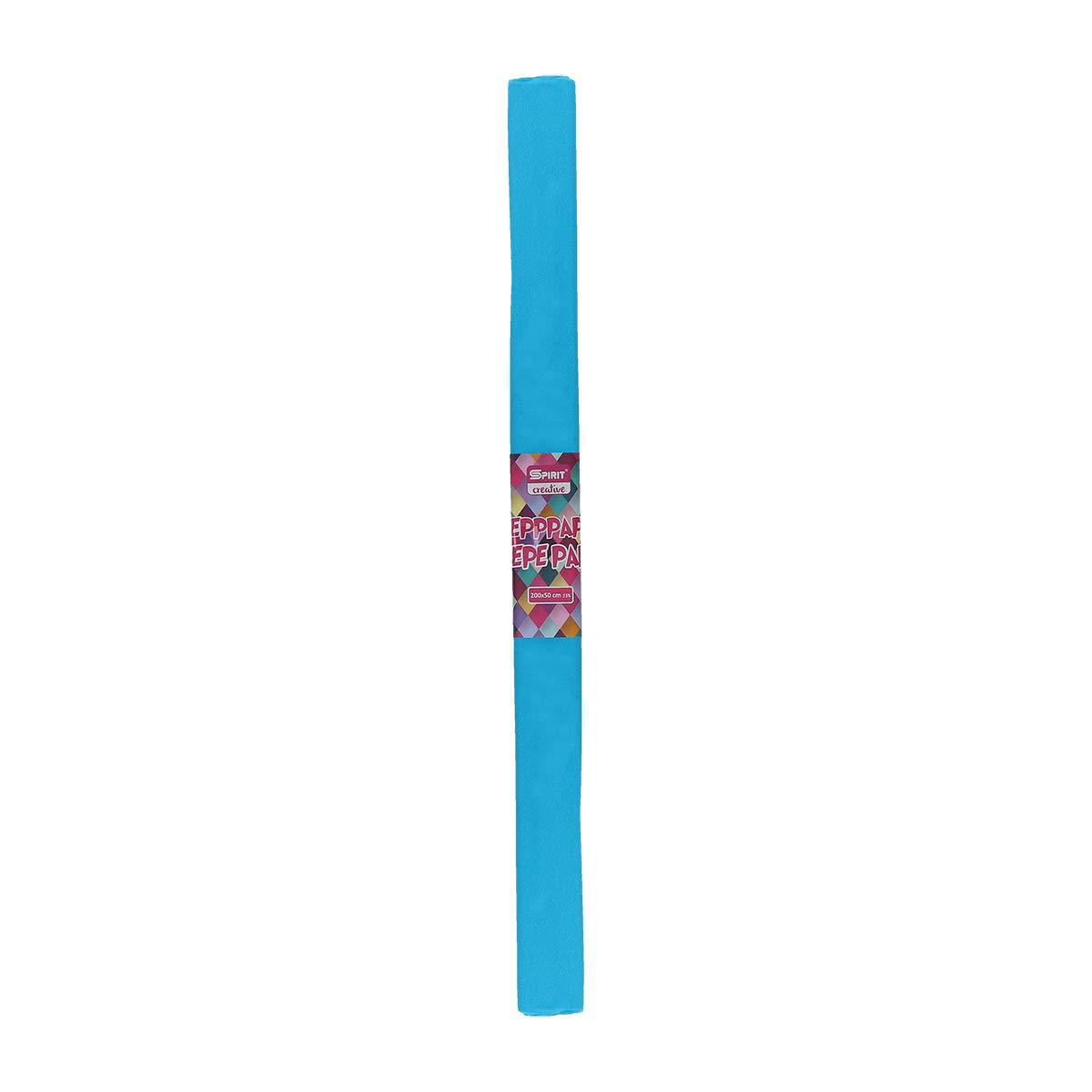 colore: Azzurro Carta crespa SB 200 x 50 cm