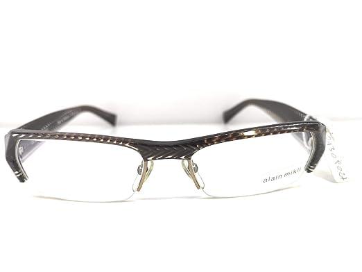 97de82e4679 Alain Mikli - Montures de lunettes - Homme Marron marron 54  Amazon ...
