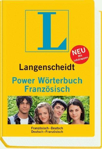 Langenscheidt Power Wörterbuch Französisch - Buch (normale Ausgabe): Französisch-Deutsch/Deutsch-Französisch