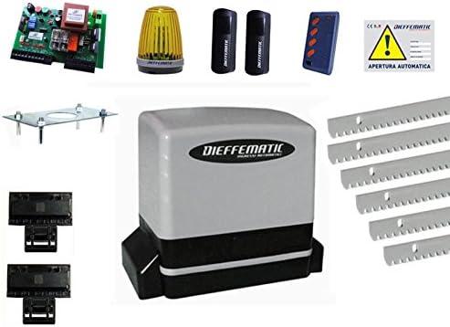 Kit motor AUTOMAZIONE Puerta Corredera automático 6 mt llar galvanizada: Amazon.es: Hogar