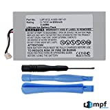 Replacement 930mAh LIP1412 Battery for Sony PSP GO PSPgo Playstation Portable PSP-N1000, PSP-N1001, PSP-N1002, PSP-N1003, PSP-N1004 with Installation Tools