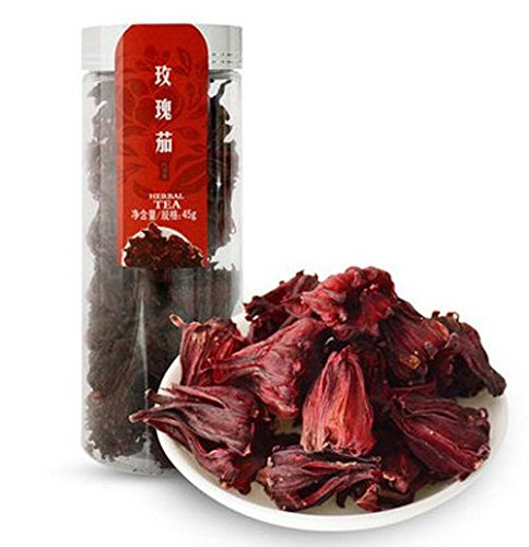 45g WUYUTAI Healthy 100% Organic Dried Hibiscus Flower Roselle Buds Chinese Herbal Tea (Flowers Dried Organic Hibiscus)
