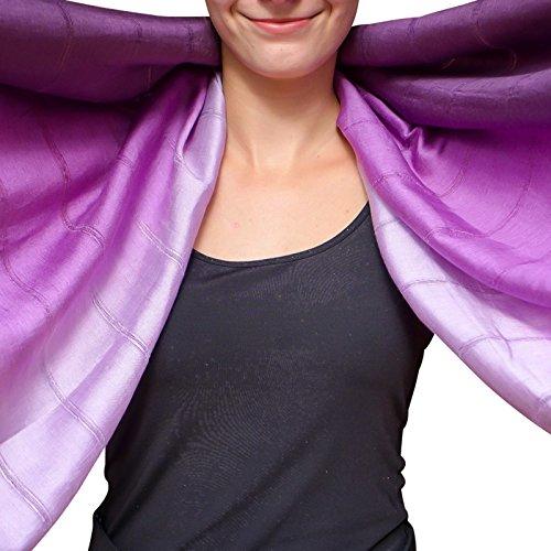 dd1c62392 Unique Wrappable Silk Scarf. Handmade Blue Silk Scarves Wrap - Buy ...