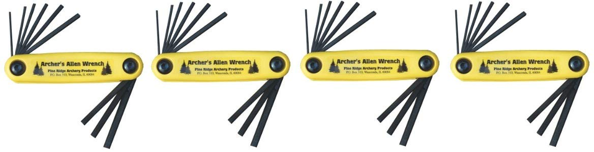 Pine Ridge Archery Archer's Allen Wrench Set (4-(Set))