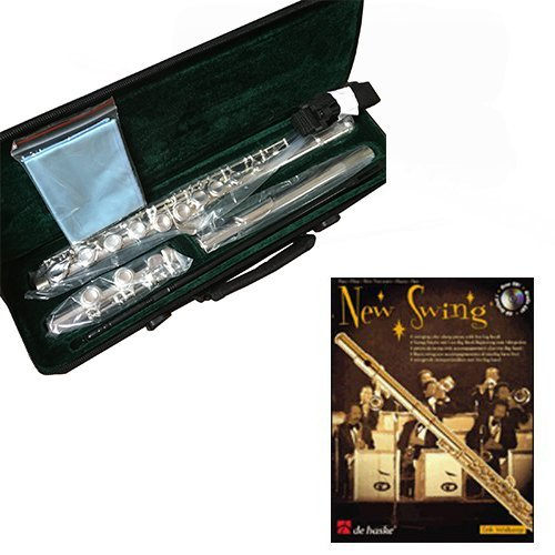 JEAN BAPTISTE 182S STUDENT FLUTE -C FOOT, CLOSED HOLE Flute with Case & Warranty - New Swing Play Along Pack