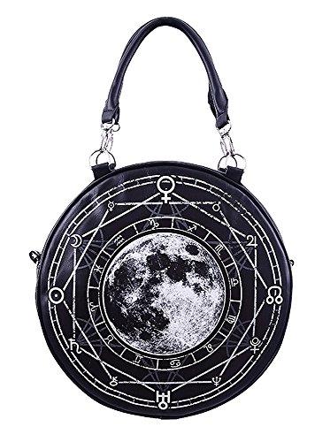 Sac rond full moon, lune alchimique occulte sorcière