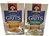 quaker cheese - Variety Pack - Quaker Instant Grits (12 oz) - Cheese Lovers, Flavor Variety