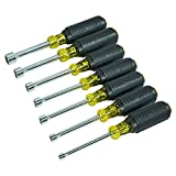 """Klein Tools 631M Jgo. de 7 Desarmadores de Caja 3"""" Eje Magnetico"""