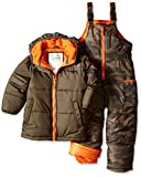 Carter's Little Boys' Printed Snowsuit and Puffer Coat