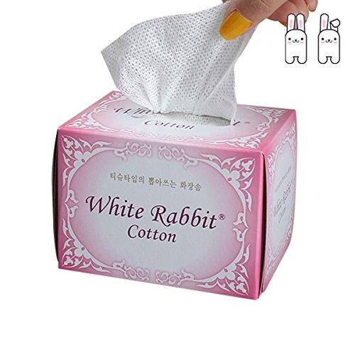 white-rabbit-authorized-us-dealer-pink-plain-tissue-type-premium-cosmetic-100-organic-cotton-pad-100