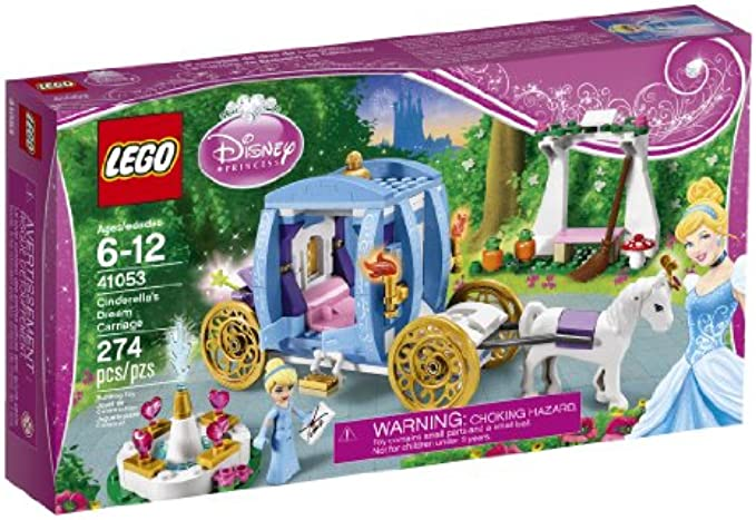 LEGO Disney Princess 41053 כירכרת החלומות של סינדרלה