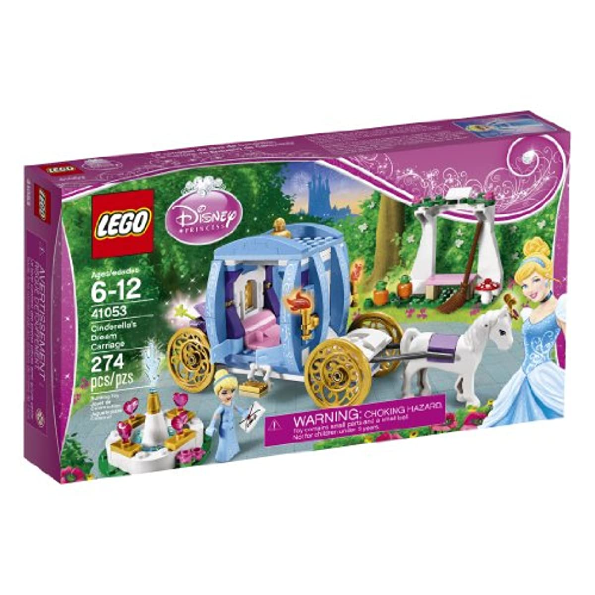 [레고 디즈니공주] LEGO Disney Princess 41053 Cinderella's Dream Carriage