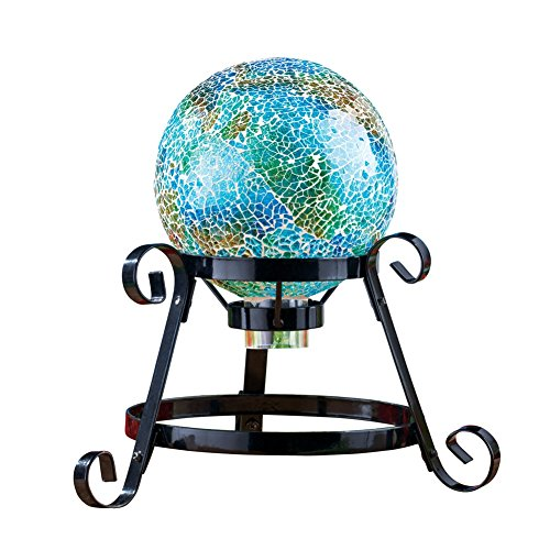Mosaic Garden Gazing Ball Decoration