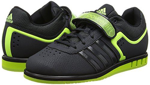 dark Yellow Black Adidas Multisport Indoor Chaussures solar core Mixte Powerlift2 Gris Adulte Grey 7Sq0vR