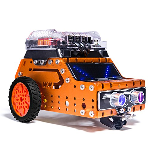 Charming WeeeMake Tremendous WeeeBot Stem Constructing Robotic Equipment Distant Management DIY Robotics Equipment Training Arduino Programmable Equipment Sensible Automotive Cool Electrical RGB LED Jeep Toy For Children/Starter To Be taught Coding  Critiques