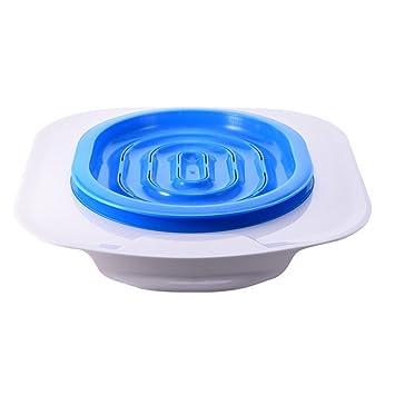 ueetek Asiento de adiestramiento para Toilette para gatos Kit Orinal para gatos Orinal (Azul): Amazon.es: Productos para mascotas