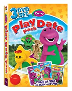 Barney: Play Date Pack, Let's Pretend with Barney / Can You Sing That Song? / Come On Over To Barney's House