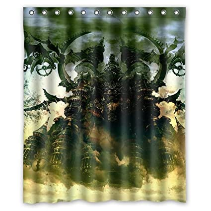 Final Fantasy XIV Heavensward Custom Shower Curtain 60quot