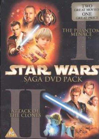 Star Wars Episodes 1 & 2 Pack [Reino Unido] [DVD]: Amazon.es: Star ...