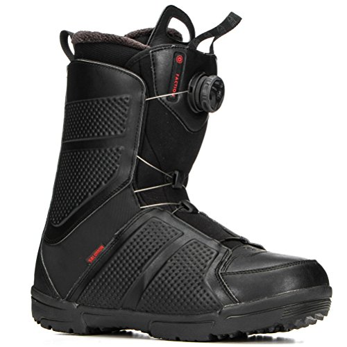 Salomon Faction Boa Snowboard Boots 2018-10.0/Black