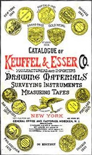 Catalogue of Keuffel & Esser Co. (1921): Drawing Materials, Surveying Instruments, Measuring - Surveying Instruments Antique