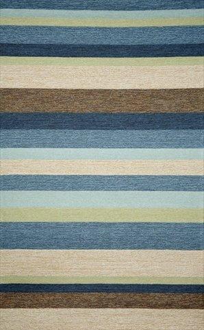 (Ravella Stripe Rug Denim Blue/36
