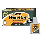 BIC Wite-Out Quick Dry Correction Fluid - 12