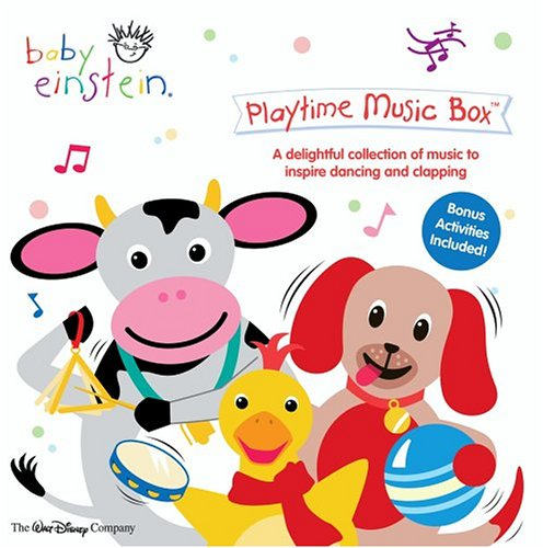Baby Einstein - Playtime Music Box (Jewel) by Walt Disney Studios