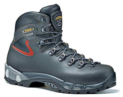 - Asolo Mens Power Matic Hiking Dark Graphite Leather Boot 10 M US