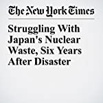 Struggling With Japan's Nuclear Waste, Six Years After Disaster | Motoko Rich