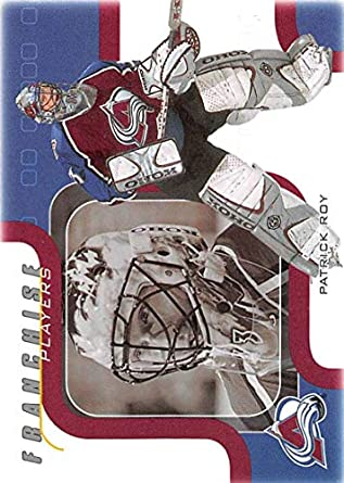 37a674f632e 2002-03 Be A Player Memorabilia Hockey  208 Patrick Roy Colorado Avalanche  Official NHL