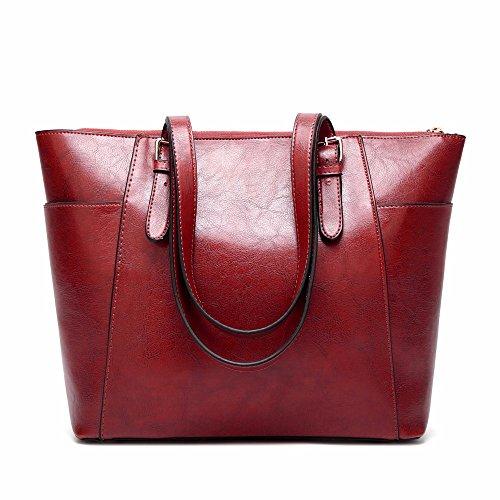 2012 nueva moda bolso satchel, europeos y americanos, señoras bolso,Azul Claret