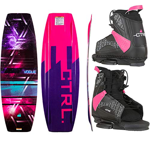 Used, CTRL Vogue Wakeboard Womens Sz 134cm OT Bindings Sz for sale  Delivered anywhere in USA