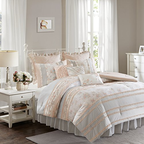 51RWDGPa24L - Serendipity Cotton Percale Comforter Set