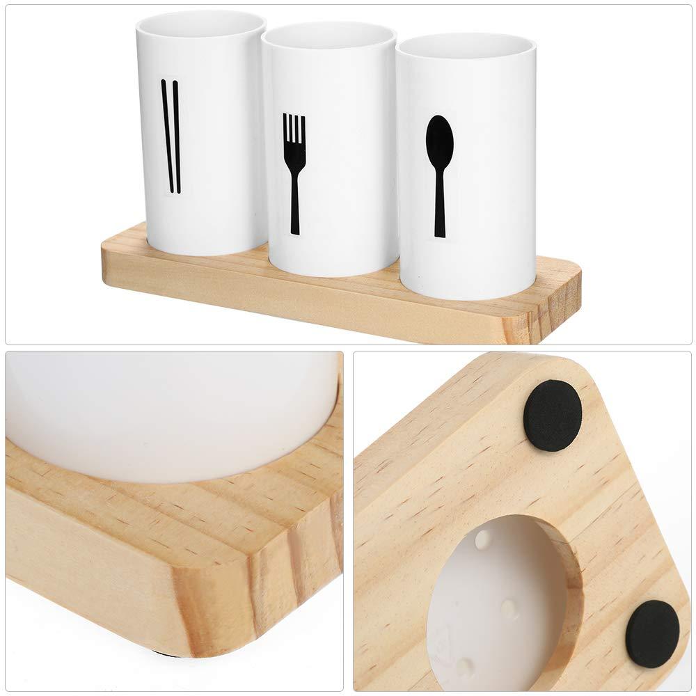 tenedores cubiertos cucharas ideal para cocina comedor picnics Decdeal entretenimiento Soporte para cubiertos para palillos