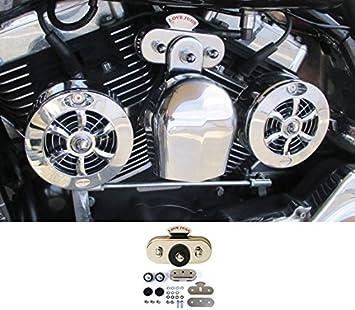 Chrome Distributor Top for Harley Davidson by V-Twin