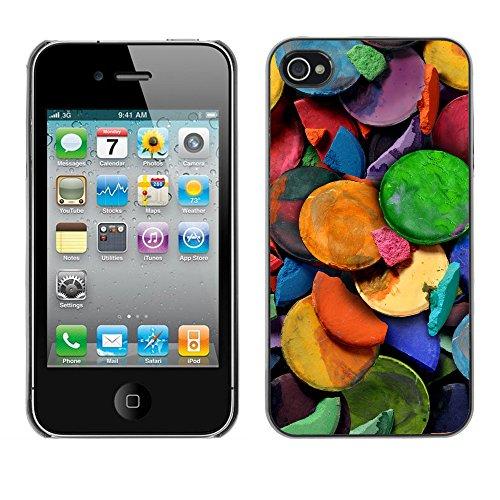 Premio Sottile Slim Cassa Custodia Case Cover Shell // V00001837 Peinture Art // Apple iPhone 4 4S 4G