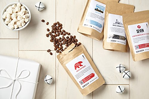 Bean Box Dark Roast Gourmet Coffee Sampler - 6-Month Gift Subscription - (fresh roasted coffee gift box, specialty whole bean, 4 roasts every month, Christmas gift, holiday gift) by Bean Box (Image #2)