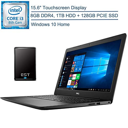 Dell Inspiron 15 15.6″ Laptop Computer, AMD A9-9425 up to 3.7GHz, 4GB DDR4 RAM, 64GB PCIe SSD, 802.11AC WiFi, Bluetooth 4.1, Webcam, USB 3.1, HDMI, Remote Work, Black, Windows 10, iPuzzle Mousepad