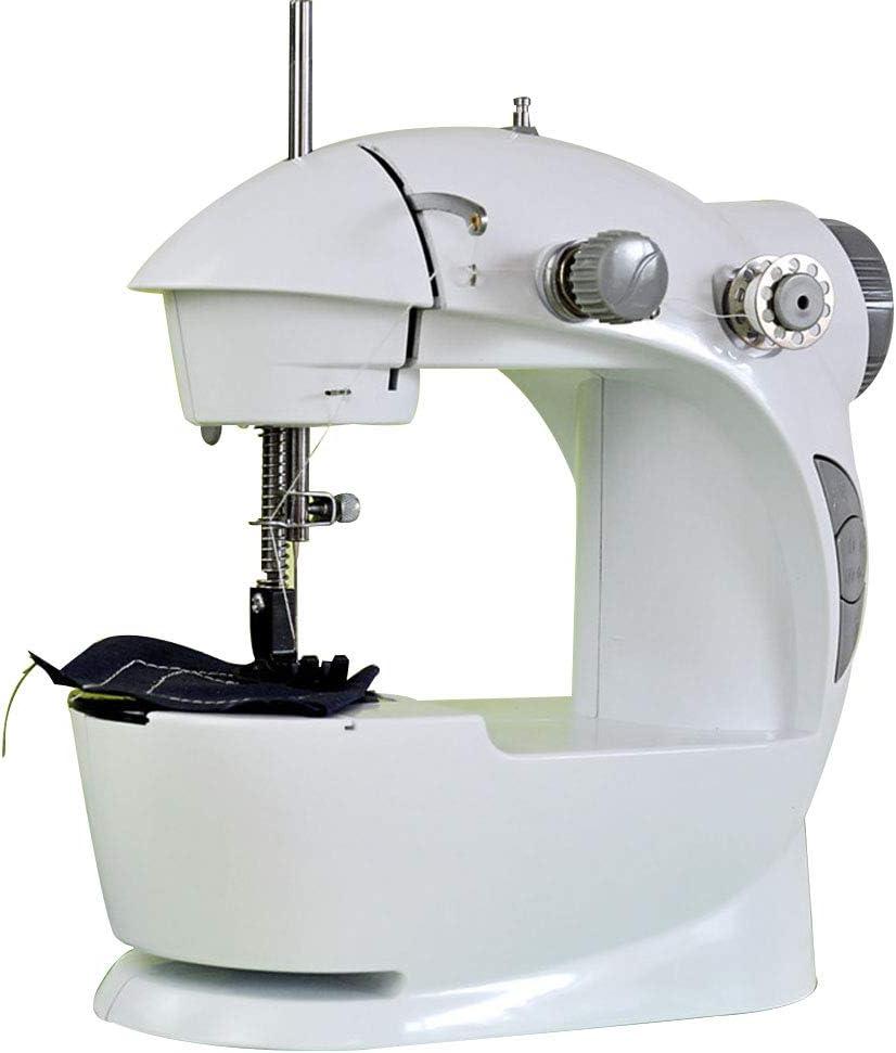 HYCZW Máquinas De Coser, Mini Máquina De Coser Portátil Máquina De Coser De Mano Mini Máquina De Coser Portátil para Ropa Cortinas Fácil De Usar Y Práctica Máquina De Coser Mecánica