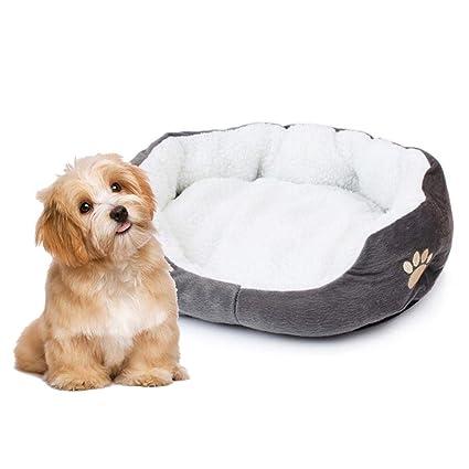 FOONEE Camas de Perro Perros Grandes, Cama de Lujo para Mascotas, Super Peluche,