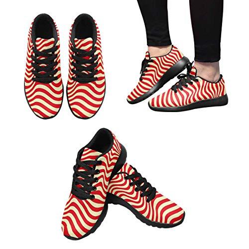 InterestPrint Women's Custom Sneaker Design 10 Running qFRBC4xwR