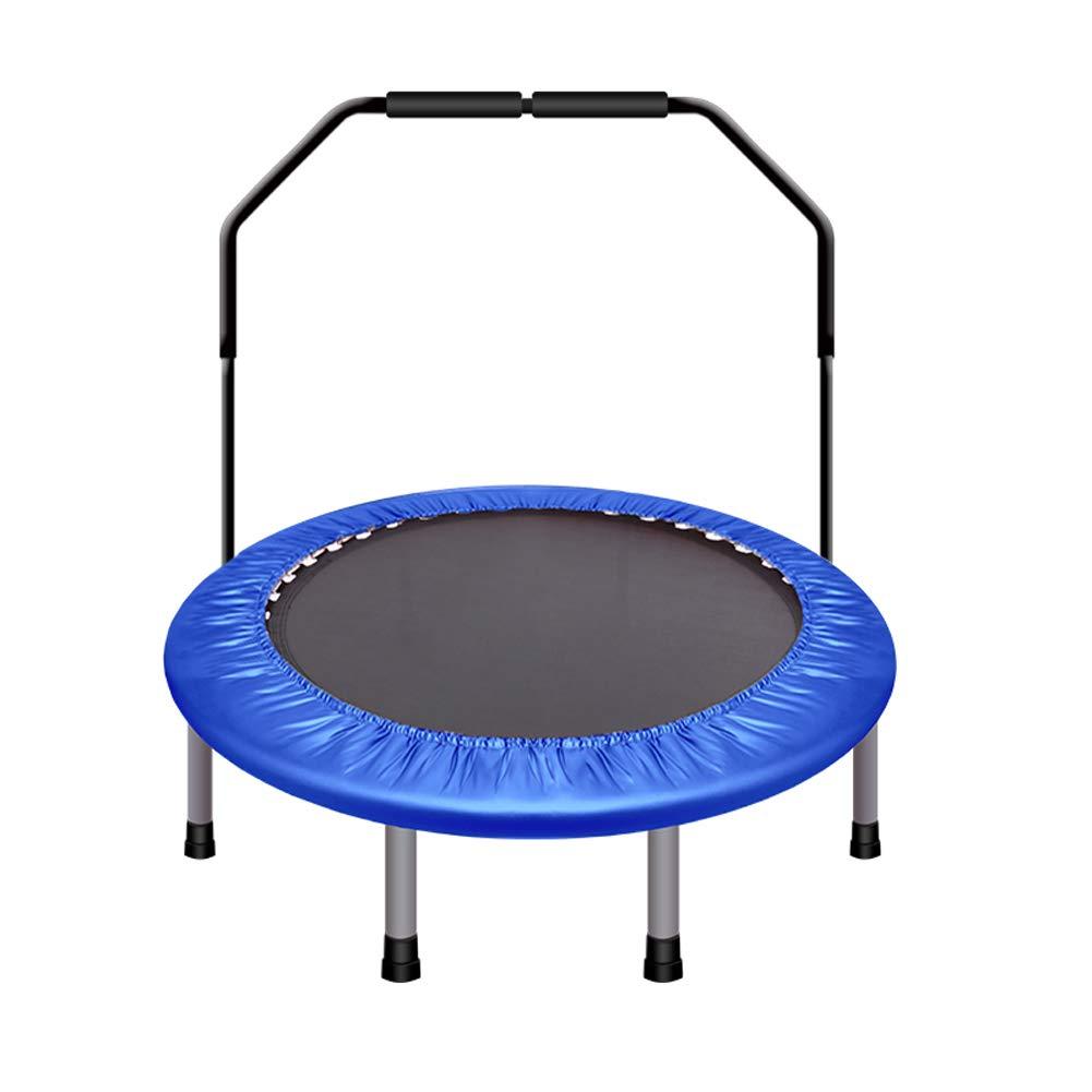 Homesave Trampolin Mit U-Griff Höhe Einstellbar 48 Zoll,Blau