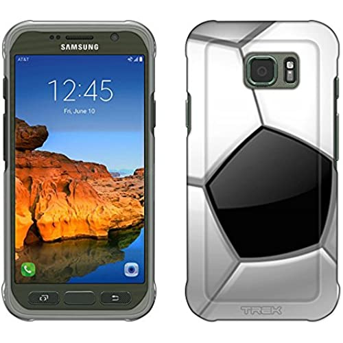 Samsung Galaxy S7 Active Case, Snap On Cover by Trek Soccer Ball Close Up Slim Case Sales