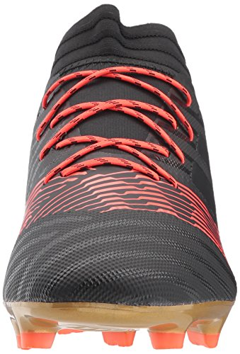 adidas Originals Men's Nemeziz 17.2 FG Soccer Shoe, Core Black/Core Black/Solar Red, 13 M US