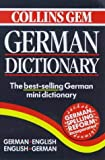 Collins Gem German Dictionary, HarperCollins Publishers Ltd. Staff, 0004723570