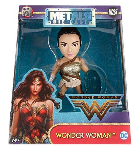 """Metals Wonder Woman Movie 4"""" Amazonian Warrior (M287) Toy Figure"""