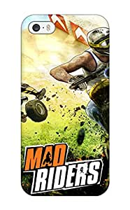 8531435K51906806 Case Cover Protector For Iphone 5/5s Mad Riders Game Case