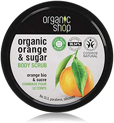 Organic Shop Body Scrub Natural Sicilian Orange And Sugar 250ml Buy Online At Best Price In Uae Amazon Ae